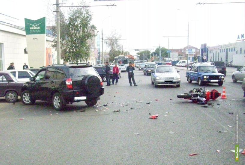 За семь дней в тамбовских ДТП погибли семь человек