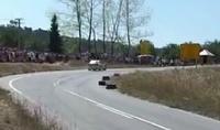 Mitsubishi Lancer Evo снес толпу на гонке в Сербии. Трое погибли