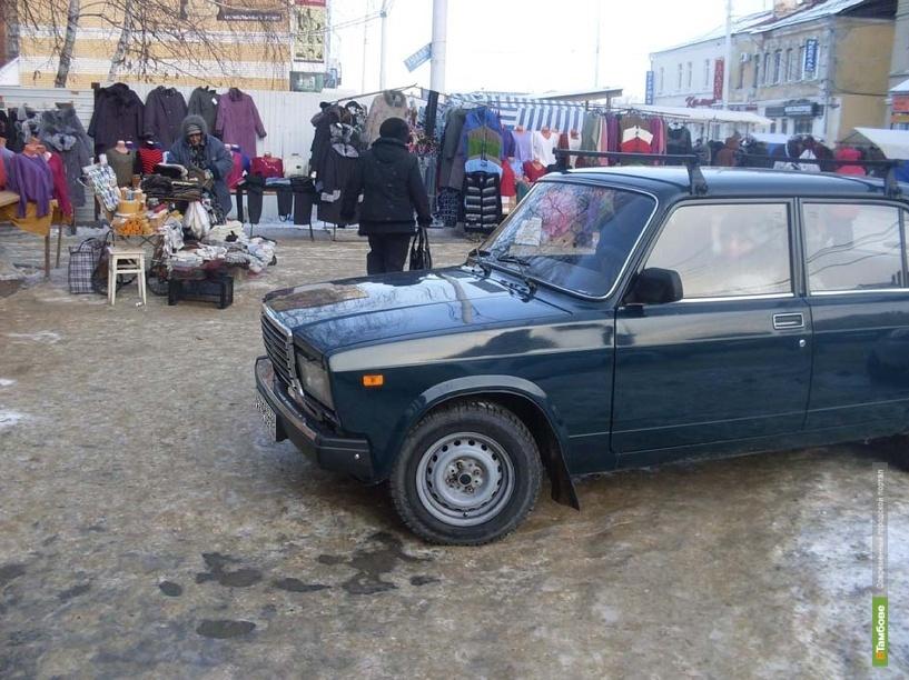 В Тамбове на Базарной пенсионерка угодила под колеса ВАЗ 2107