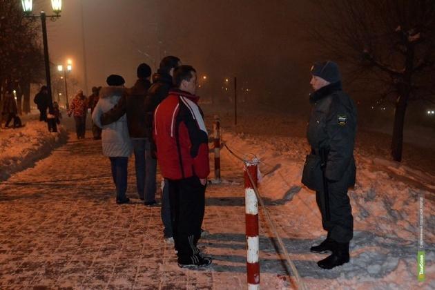 В Сочи несут службу мичуринские полицейские