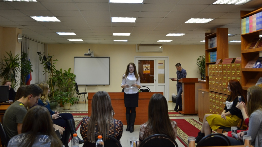 В Тамбовском филиале РАНХиГС открылся поэтический клуб «Бегемот»