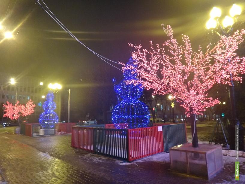 Сити-менеджер Тамбова решит судьбу новогоднего оформления города