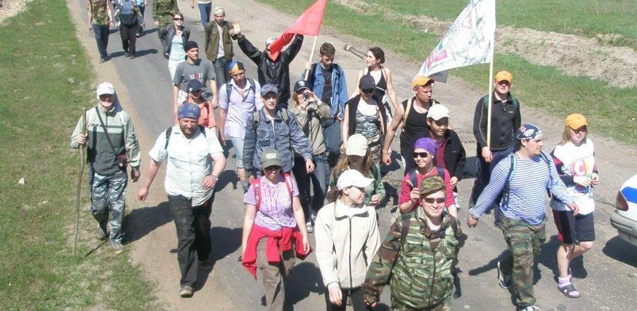 В рамках акции «Пеший Марш Победы» тамбовчане дойдут до Тулы