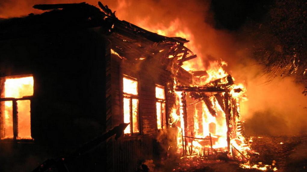 В Петровском районе во время пожара погиб мужчина