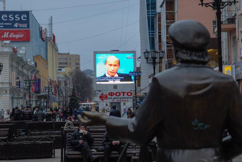 Несмотря на санкции две трети россиян поддерживают политический курс Путина
