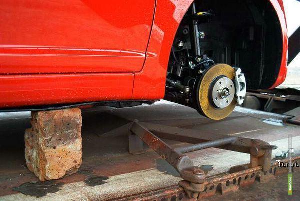 Тамбовского полицейского уволили за кражу автомобильных колёс