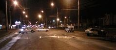 В Тамбове при столкновении трех машин погиб мужчина