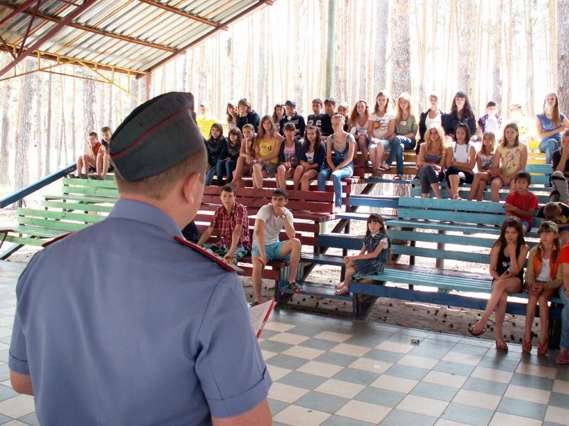 Тамбовские полицейские проверили детские лагеря и санатории