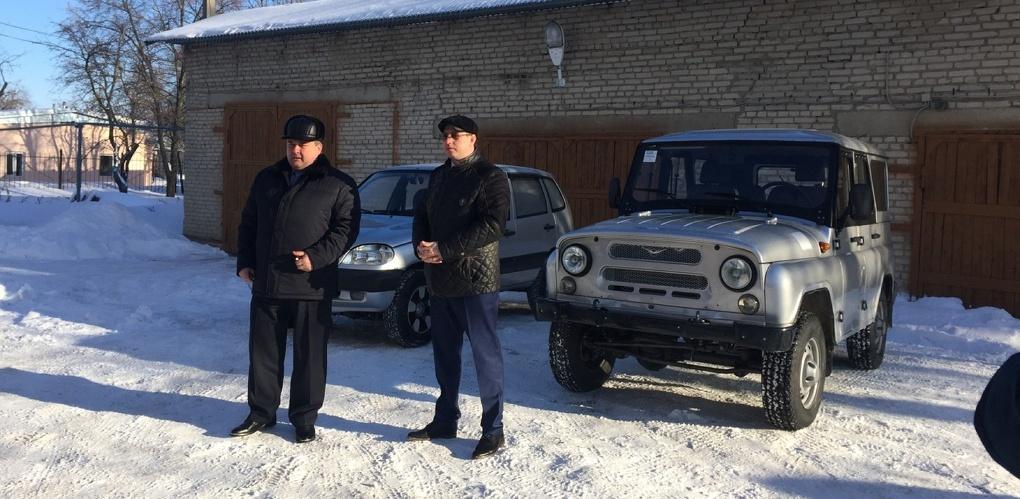 Охотоведы Мордовского и Рассказовского районов получили служебный транспорт