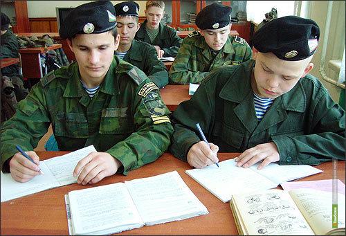 Две тамбовских кадетских школы объединили в одну