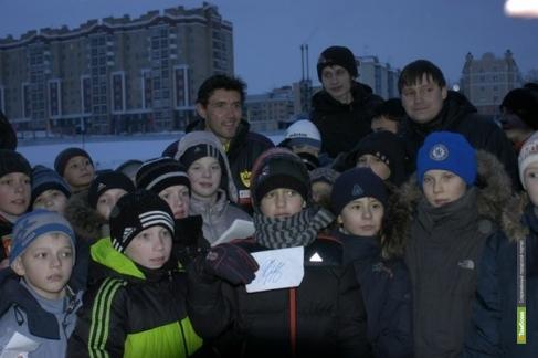 Юные «академики» встретились с Юрием Жирковым