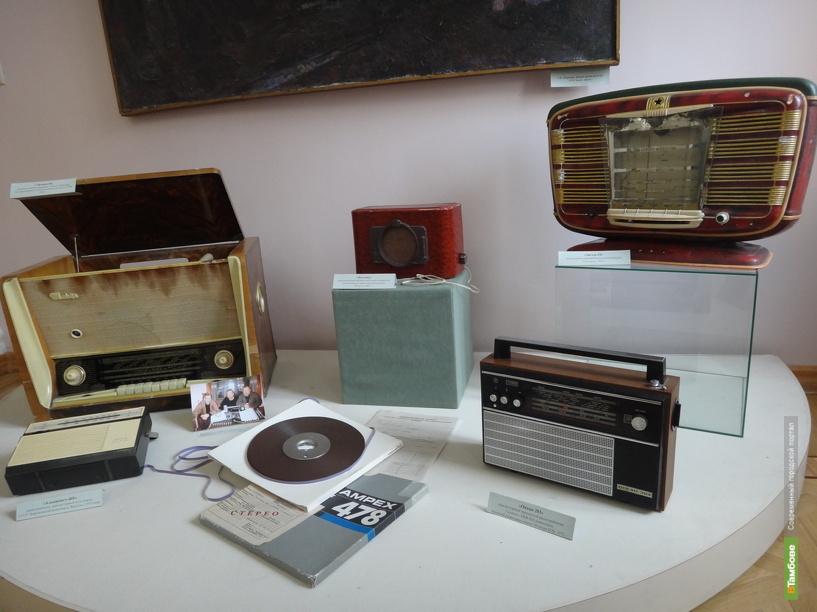 Тамбовчанам рассказали об истории становления регионального радио и ТВ