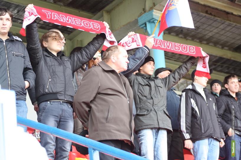 На игры ФК «Тамбов» хотят сделать бесплатный вход
