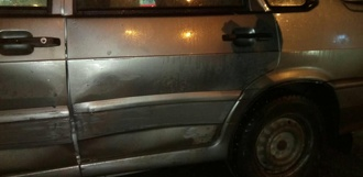 На Моршанском шоссе столкнулись два авто