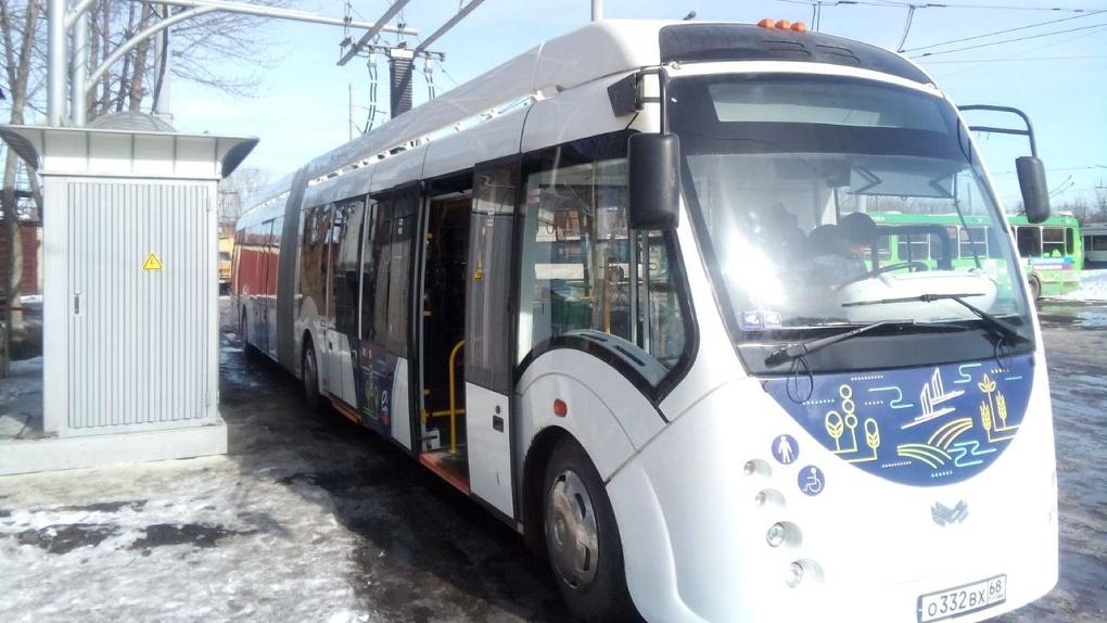 Электробус выйдет на постоянный маршрут уже на следующей неделе