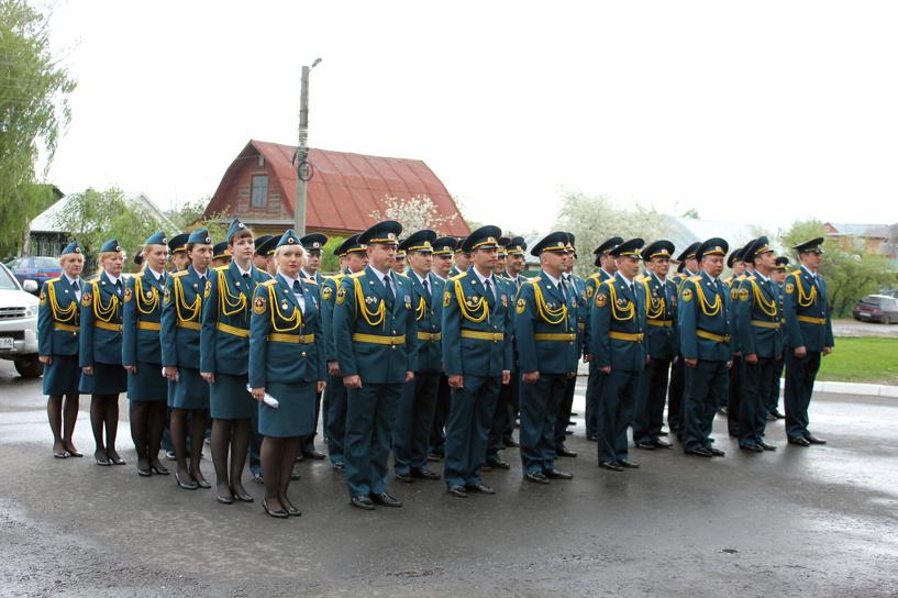 Тамбовские спасатели примут участие в Параде Победы