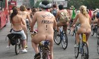 В Лондоне пройдет велопробег нудистов