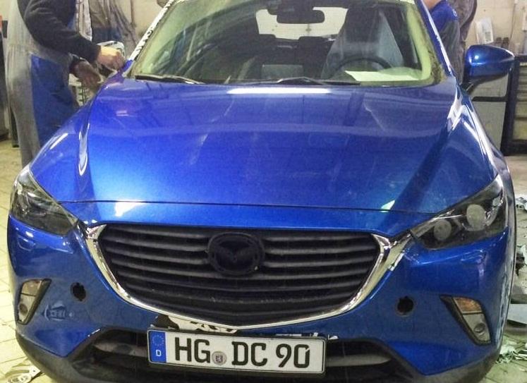 Маленький кроссовер Mazda CX3 готовится к российскому дебюту