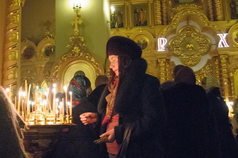 Православные тамбовчане отметили Рождество Христово