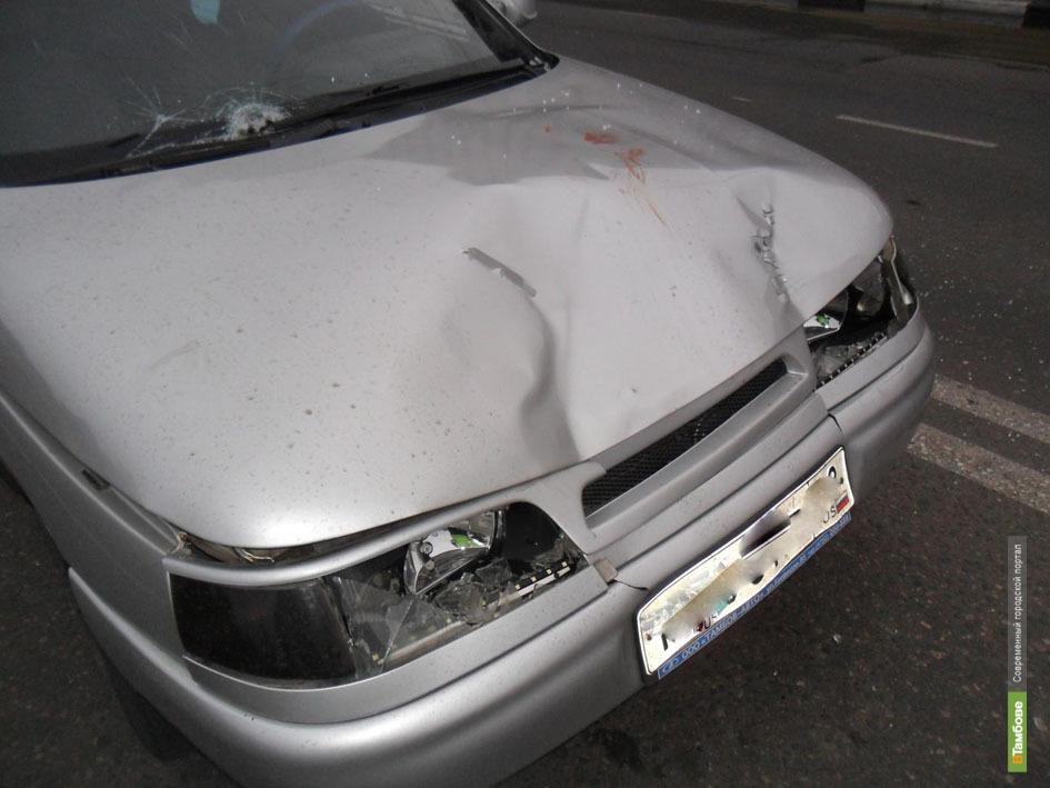 ВТамбове в аварии серьезно пострадали парень и девушка