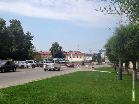 Улицу Степана Разина закрыли для транспорта