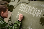 Танк с мемориала «Тамбовский колхозник» готов вернуться на постамент