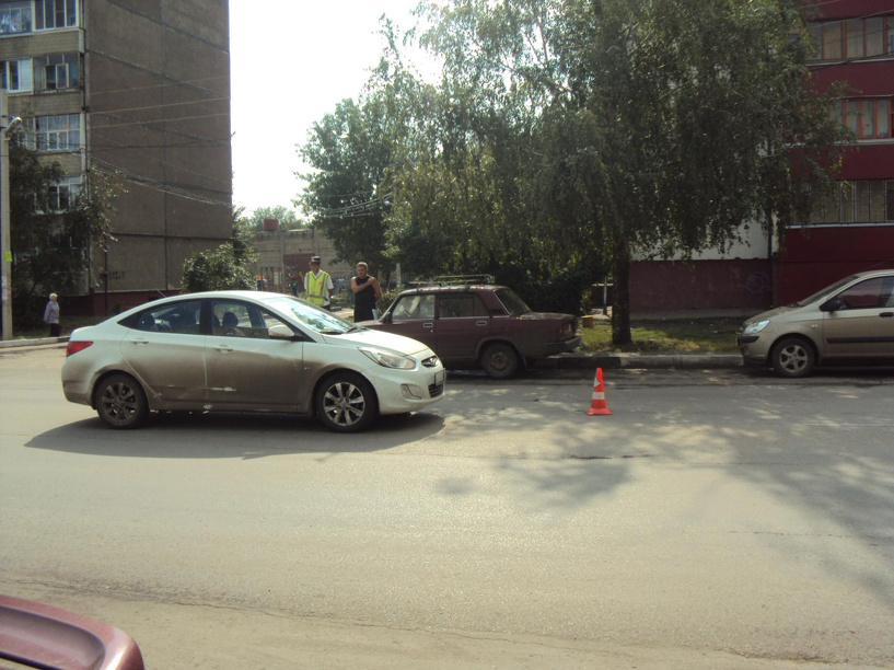 В День знаний в Тамбове первоклашку сбила машина
