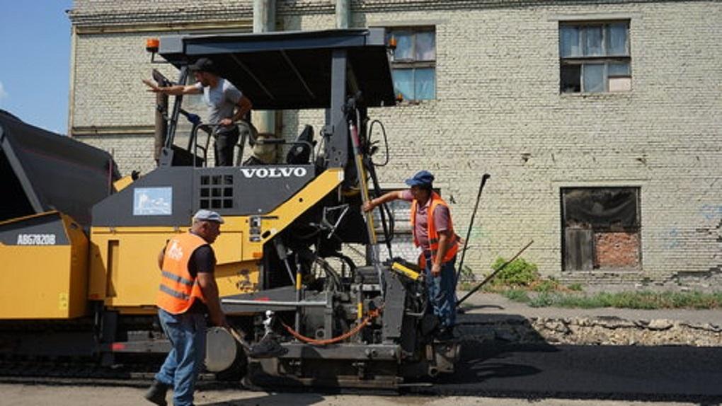 В Тамбове продолжают ремонтировать периферийные дороги