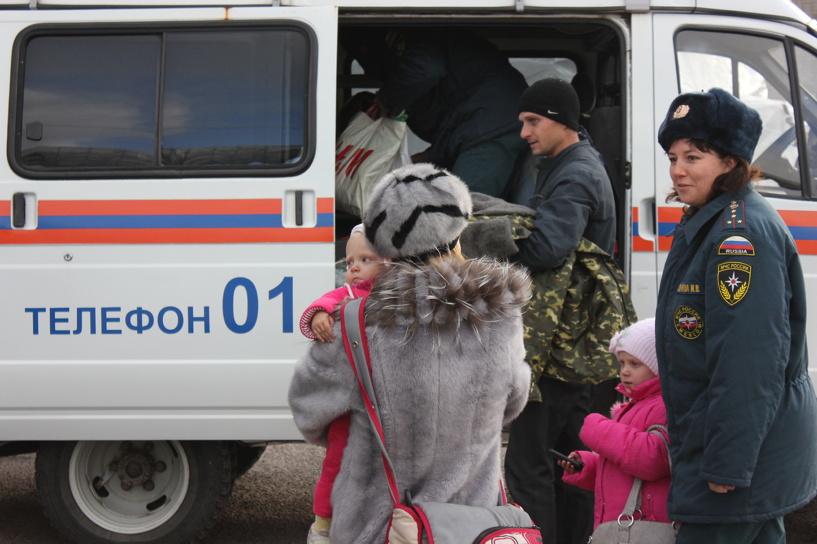 В Тамбовскую область вновь прибыли вынужденные переселенцы из Украины