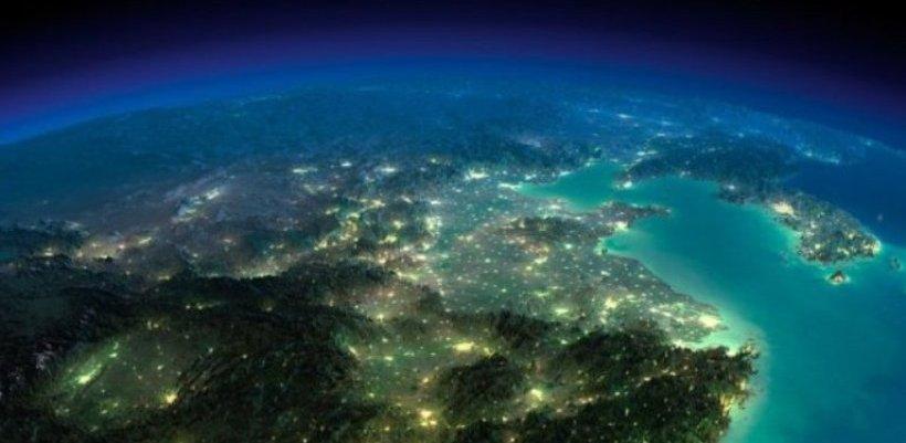 Французский астронавт сумел запечатлеть «защитное поле» Земли