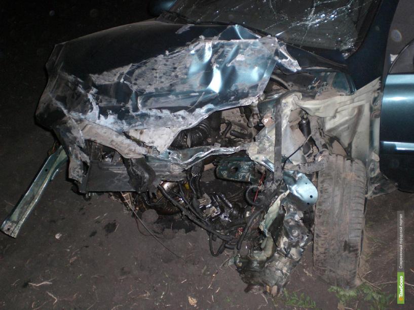 В Знаменском районе столкнулись Kia Rio и Mercedes Benz