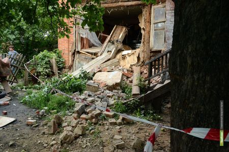 В Тамбове жильцам обрушившегося дома дадут временное жильё