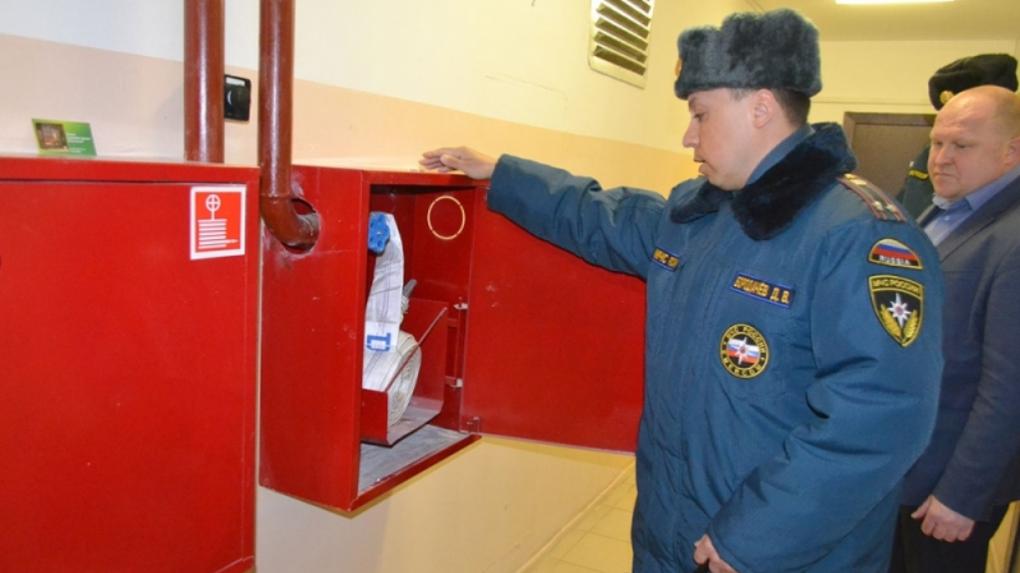 Безопасность прежде всего: тамбовские многоэтажки проверяют на пожарную безопасность