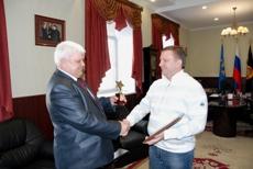 Глава Тамбова заслужил благодарность спортсменов