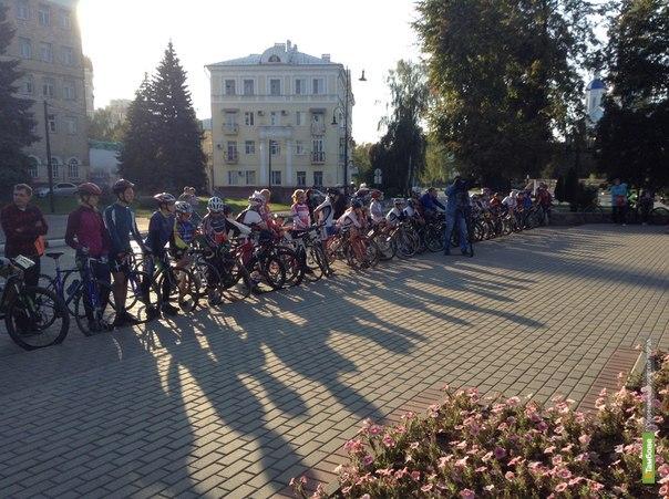 В Тамбове стартует «победный» велопробег