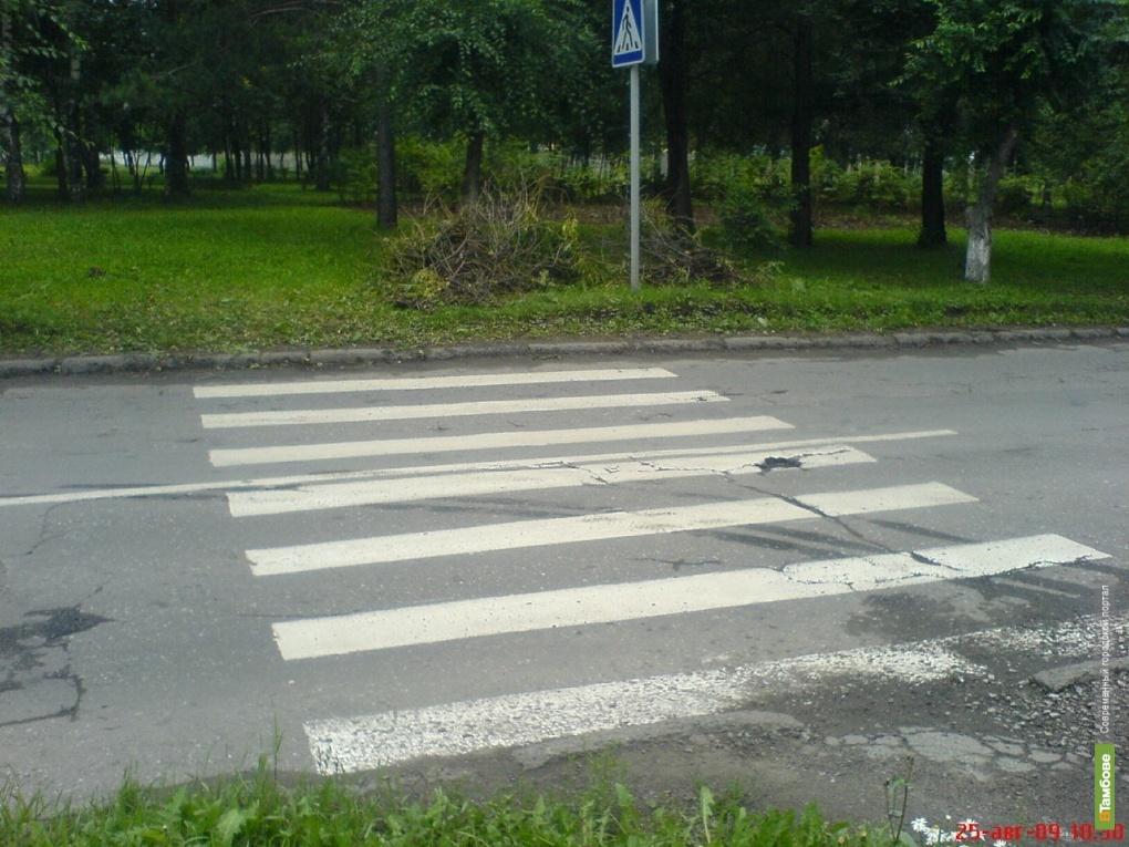 В трети ДТП в Тамбове страдают пешеходы