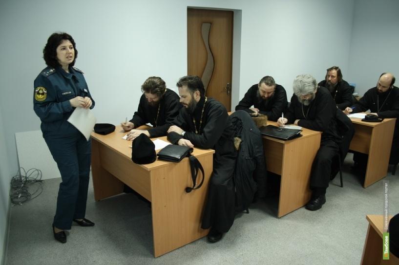 Тамбовское духовенство поможет спасателям в случаях ЧС