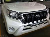 Снимки обновленного Toyota Land Cruiser Prado появились в Сети