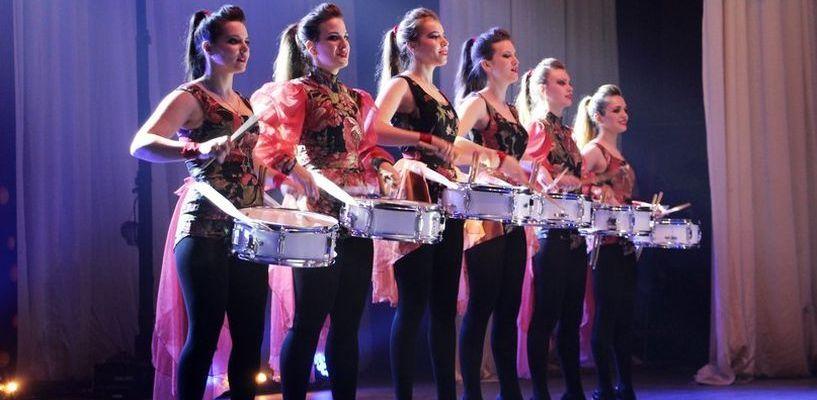 Мажорет-шоу «Славяне» ТГТУ стало частью большого рекорда