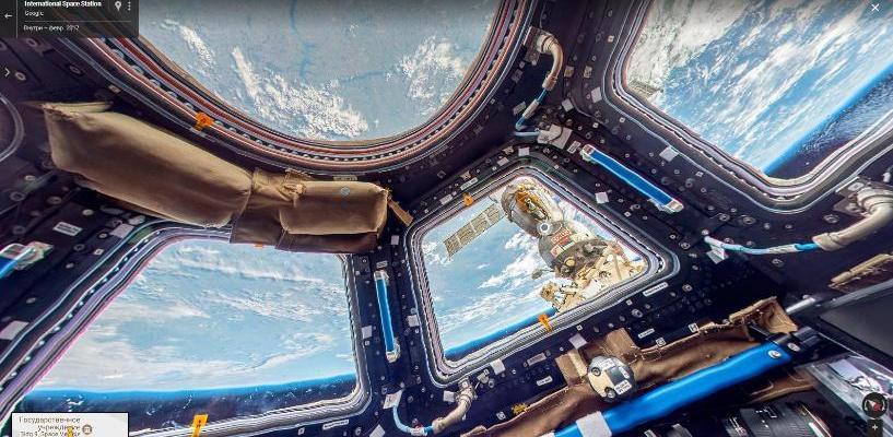 Почувствуй себя космонавтом: Google запустил виртуальную экскурсию по МКС