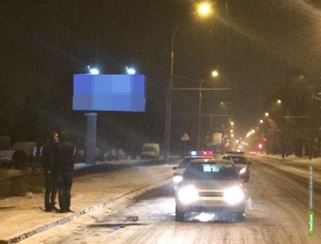 В Тамбове под колеса авто угодил пешеход-нарушитель