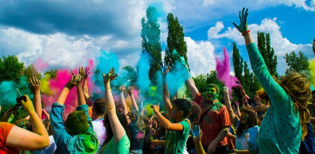 Больше ярких цветов: в Тамбове снова прошёл всероссийский фестиваль красок