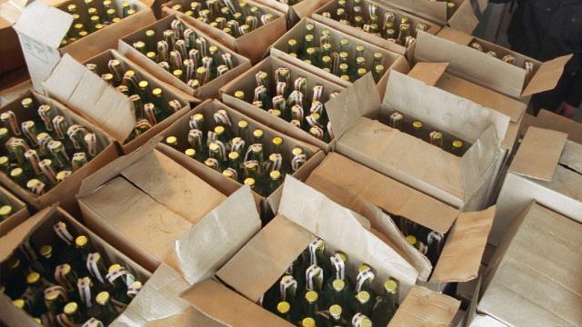 На микрорынке на западе Тамбова продавали алкоголь с признаками контрафакта