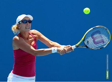 Анастасия Родионова прорвалась во второй раунд WTA