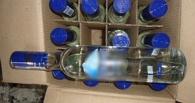 Полицейские изъяли почти 90 литров контрафактного алкоголя