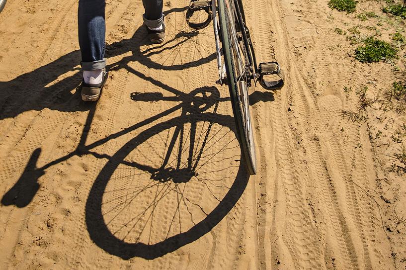 Безработный рассказовец угнал велосипед