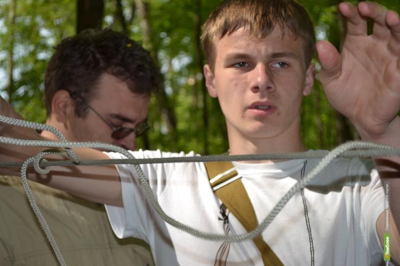 Конкурс «Юный спасатель» в Тамбове: фоторепортаж