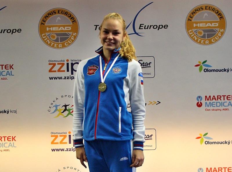 Тамбовчанка победила на зимнем Кубке Европы по теннису