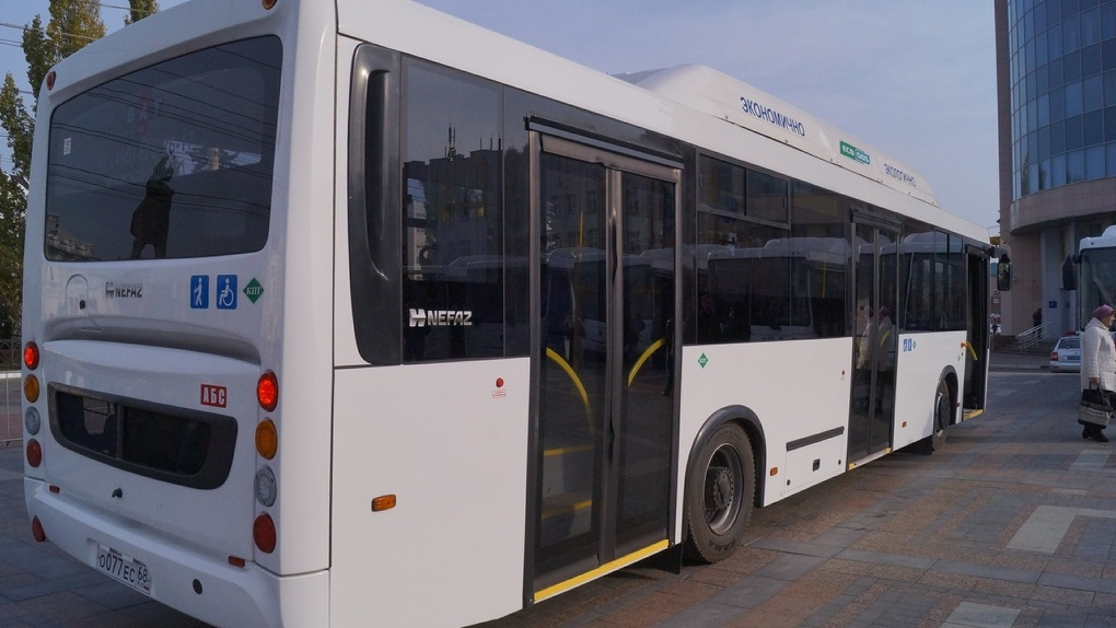 Тамбовский автобус №45 изменит схему движения