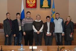 Тамбовских депутатов посетили коллеги из Украины